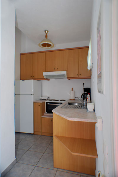 The apartment with two rooms in Artemonas
