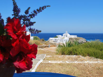 Nadali accommodations, Chrissopigi, Sifnos