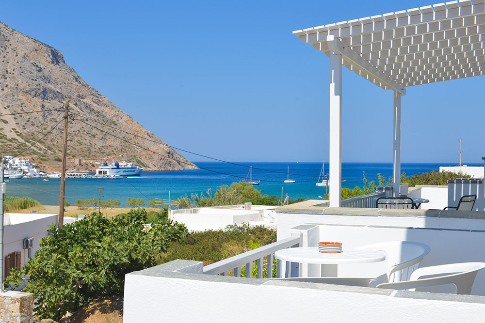 Litsa rooms in Agia Marina of Kamares