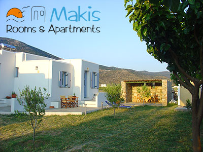 Makis rooms and apartments, Kamares, Sifnos