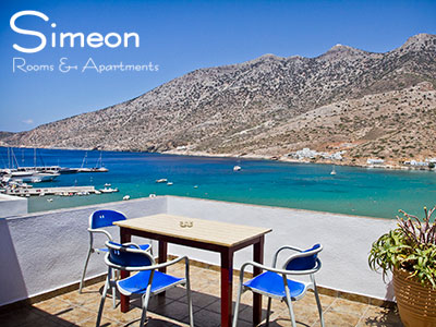 Simeon Rooms and Apartments, Kamares, Sifnos