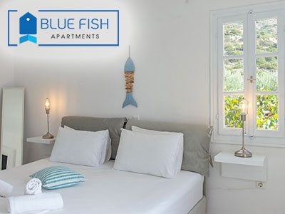 Blue Fish Apartments, Platis Gialos, Sifnos