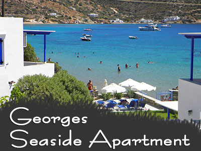 Georges Seaside Apartment, Vathi, Sifnos