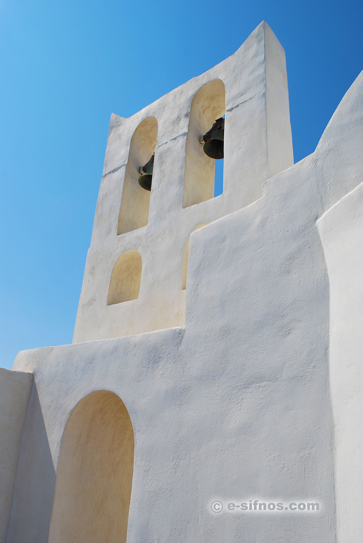 A church in Sifnos