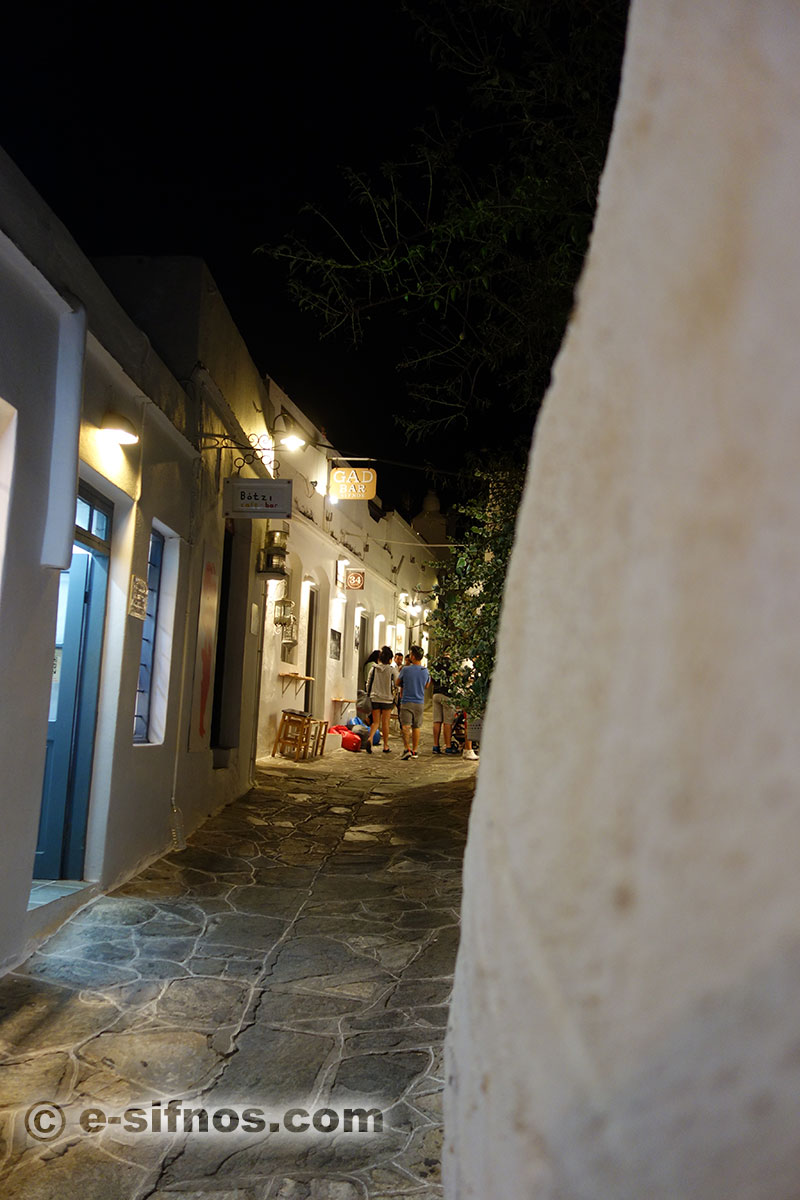 The central alley of Apollonia