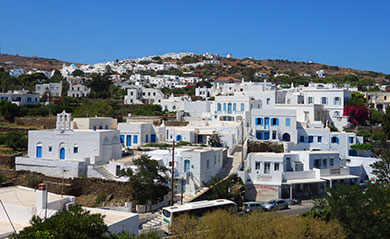 Villages in Sifnos