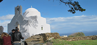 Touring routes in Sifnos