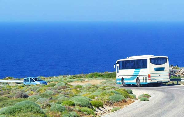 Bus in Sifnos