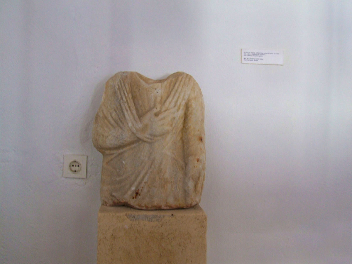 Exhibit in the archaeological museum of Sifnos