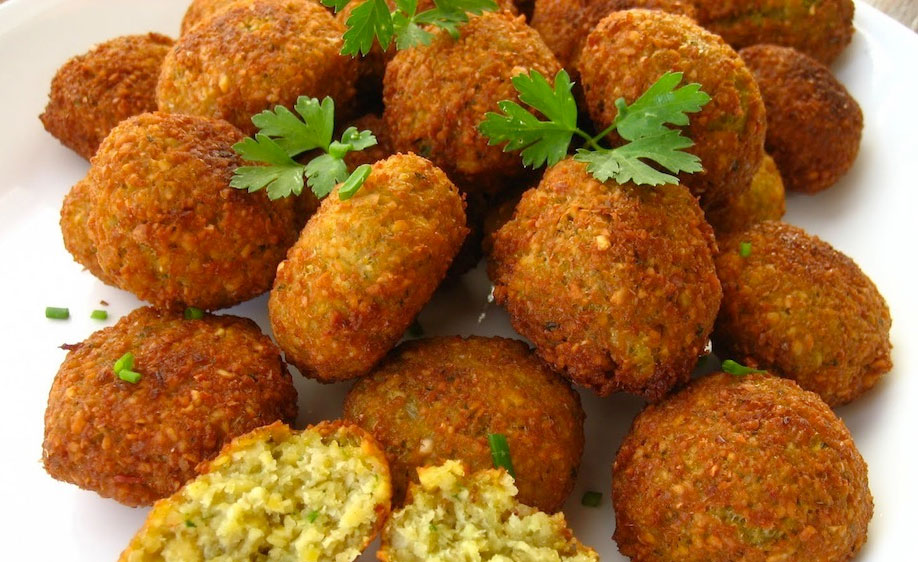 Chick pea croquettes from Sifnos