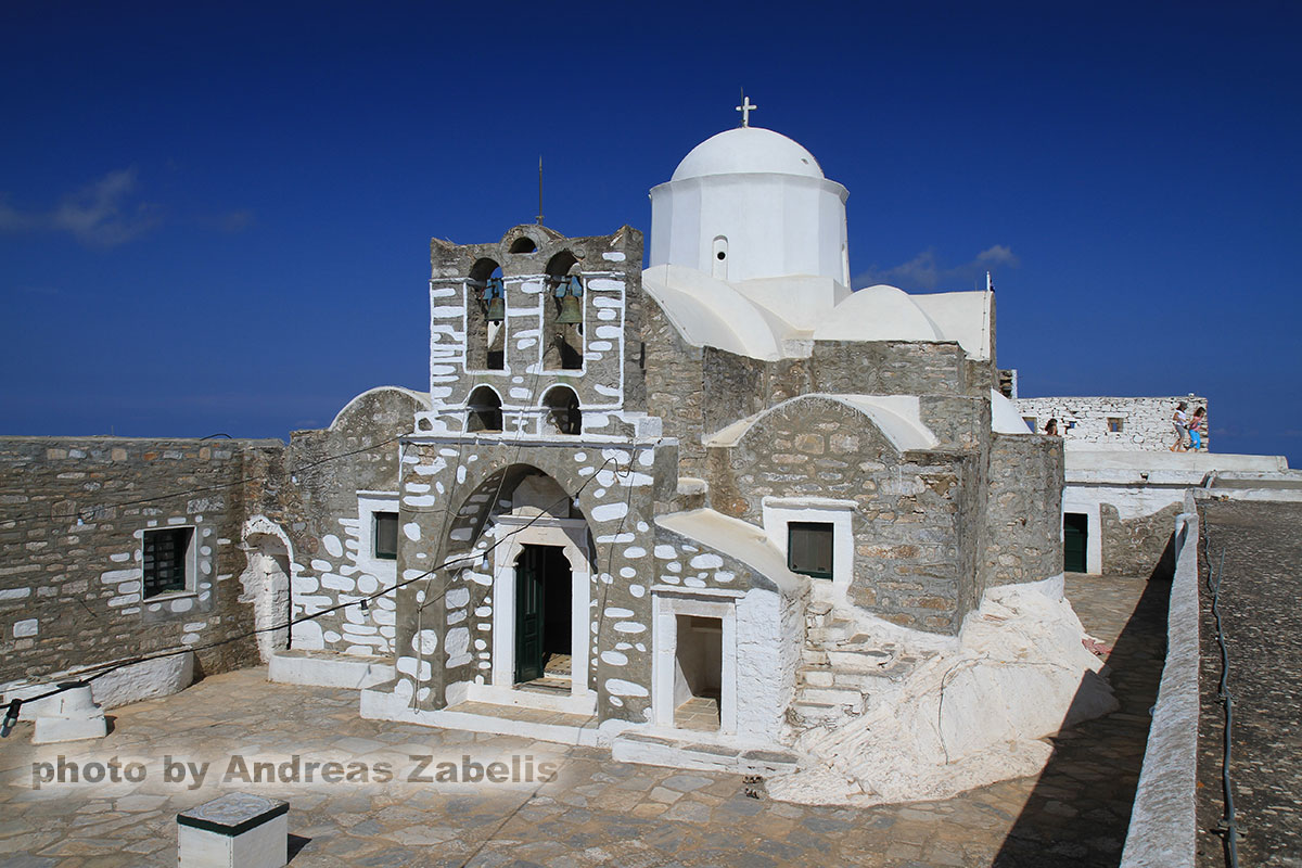 The monastery of Prophet Elias in Sifnos